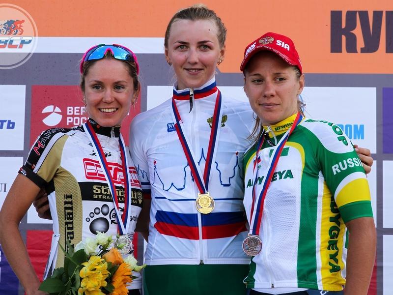 «Серебро» на гонках чемпионата России по велоспорту выиграла забайкалка