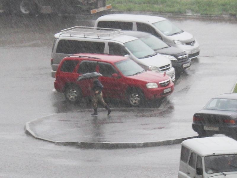 Трёхмесячная норма осадков выпала в Чите в июле