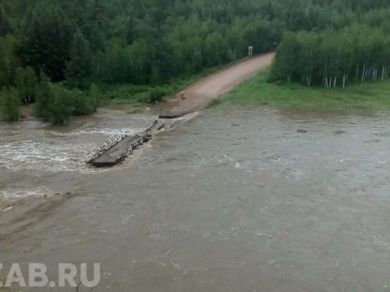 В Забайкалье 19 населённых пунктов подтоплены, 15 – отрезаны от внешнего мира