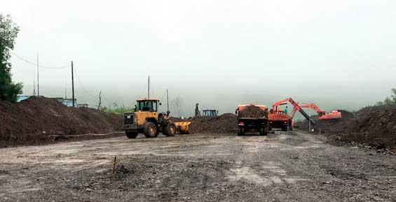 В Петропавловске началось строительство дороги, которая свяжет Северо-Восток и Горизонт