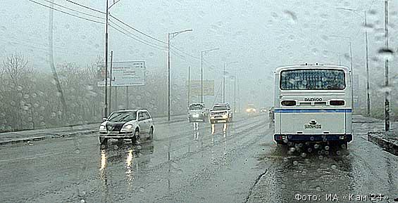 Синоптики: в Петропавловске до четверга будут идти дожди