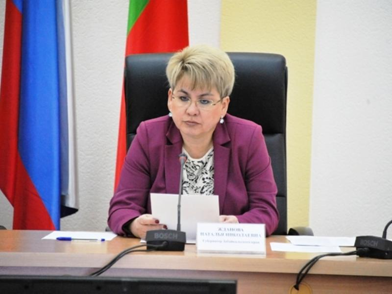 Жданова – о ЧС в крае: Никаких оснований для паники нет