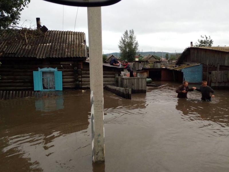 Для недопущения мародёрства в подтопленных домах в Шилку отправят 20 полицейских