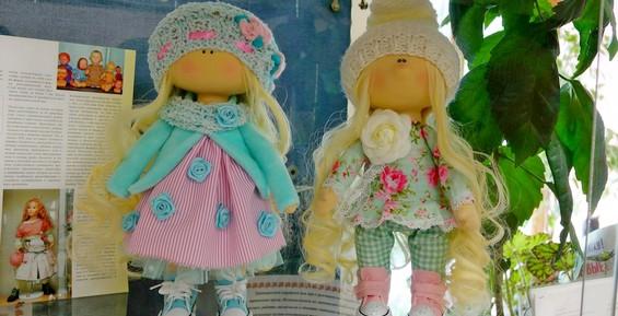 Жителей Петропавловска приглашают на выставку кукол ручной работы