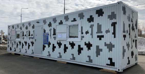 На Камчатке осужденные изготовили жилые модули на случай ЧС