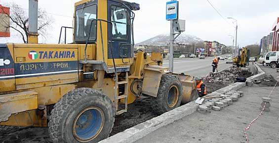 Тротуарную плитку с проспекта Рыбаков планируют использовать повторно