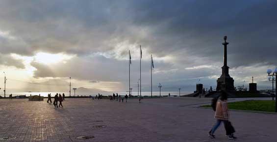 Погоду на юге Камчатки испортил циклон из Хабаровского края