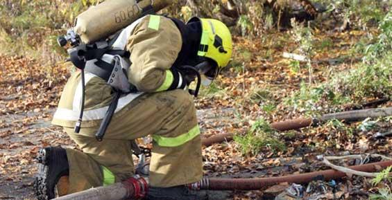 На Камчатке потушили пожар на даче