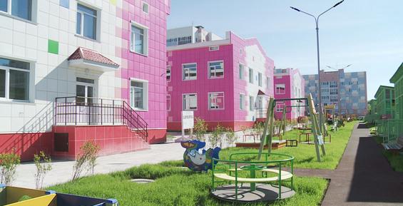 В краевой столице с сентября заработает новый детский сад с бассейном