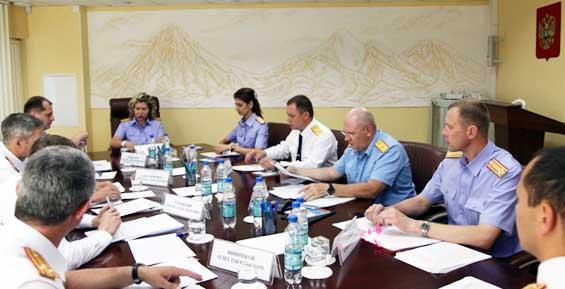 На Камчатке зам Бастрыкина поставила задачу следователям СКР в регионах ДФО