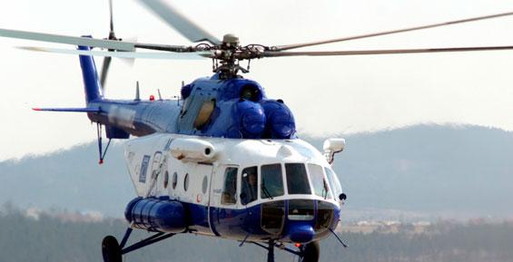 На Камчатке вертолет Ми-8 с пассажирами на борту совершил жесткую посадку