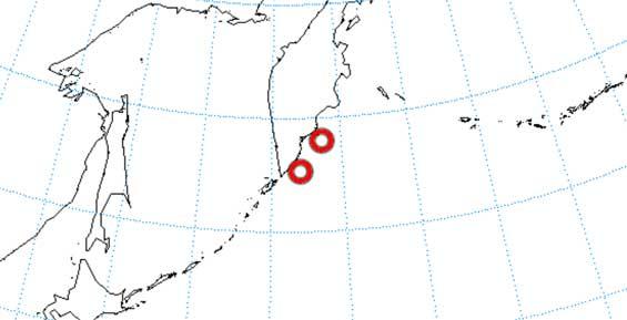 У берегов Камчатки произошло еще одно землетрясение силой до четырех баллов
