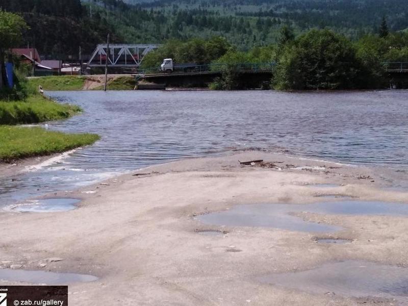 Река Ингода может выйти на пойму возле Читы 6 и 7 августа