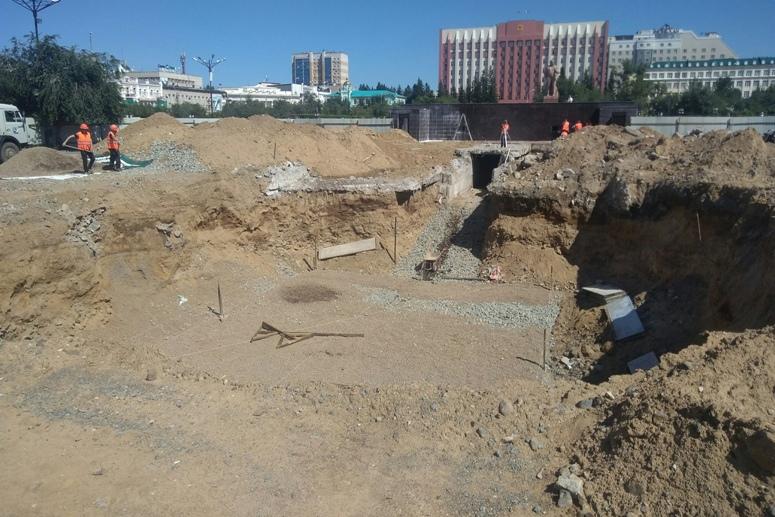Названа полная стоимость реконструкции фонтана на пл. Ленина в Чите