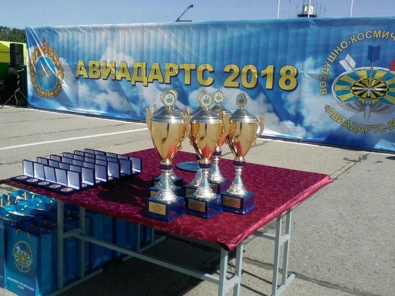 Летчики-истребители из Забайкалья заняли первое место на международном этапе «Авиадартса-2018»