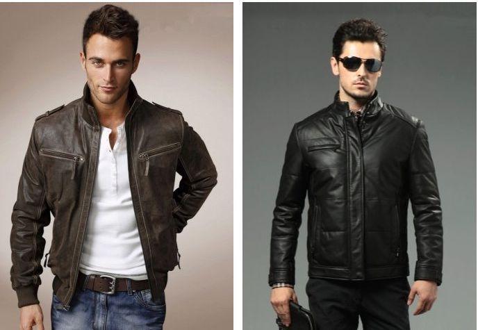 Мужские кожаные куртки в Украине