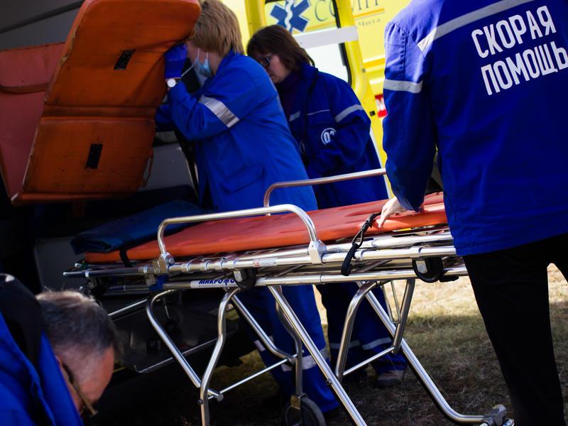 Девять человек пострадали при лобовом столкновения двух автомобилей в Забайкалье
