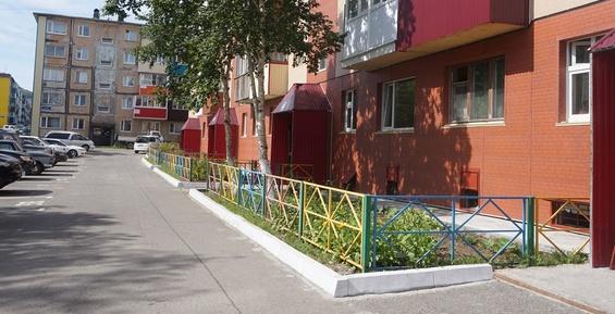 В краевой столице одновременно благоустраивают восемь дворов