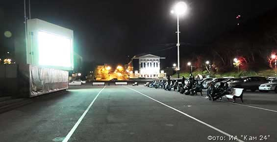 На большом экране в центре Петропавловска покажут отечественное кино