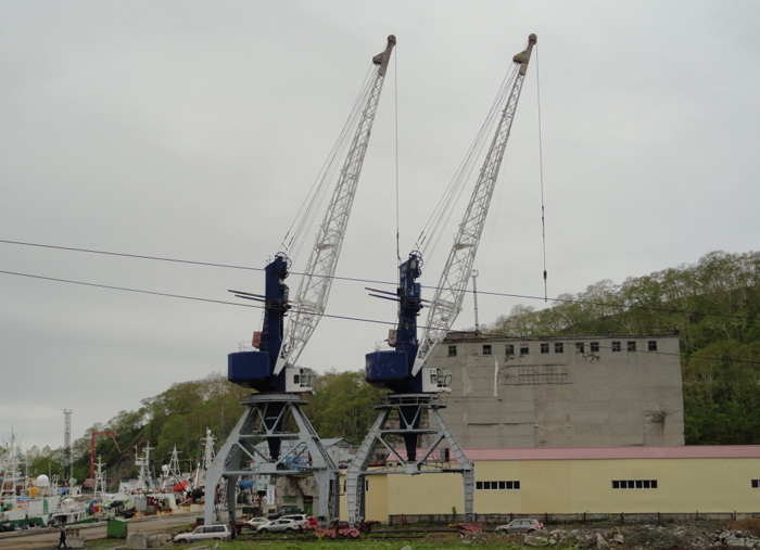 «Журавли» улетают на лом. Очевидно, рыбный порт в Петропавловске не возродится