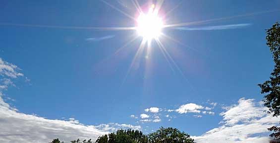 Синоптики обещают жителям Петропавловска солнечную и ветреную погоду