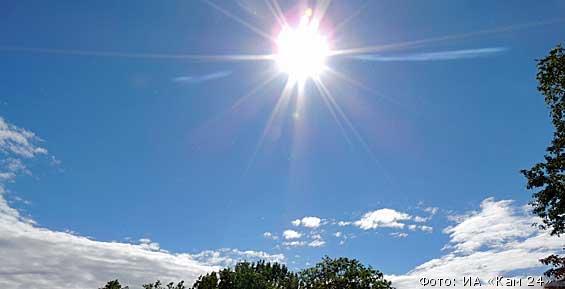 Синоптики обещают жителям Петропавловска теплые и солнечные выходные