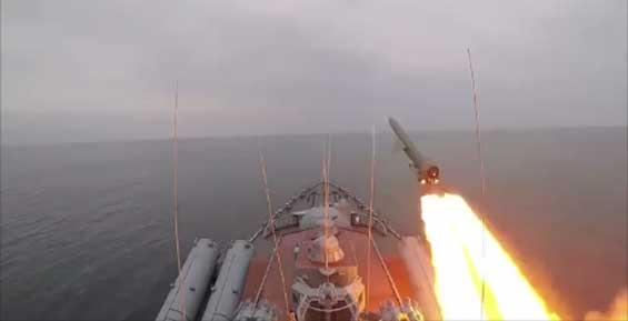 Военные отстрелялись крылатыми ракетами в районе Камчатки (видео)