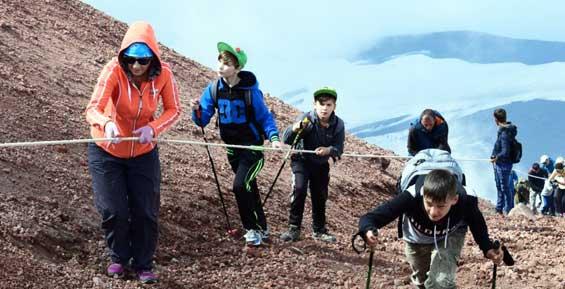 Погода внесла коррективы в празднование Дня вулкана на Камчатке