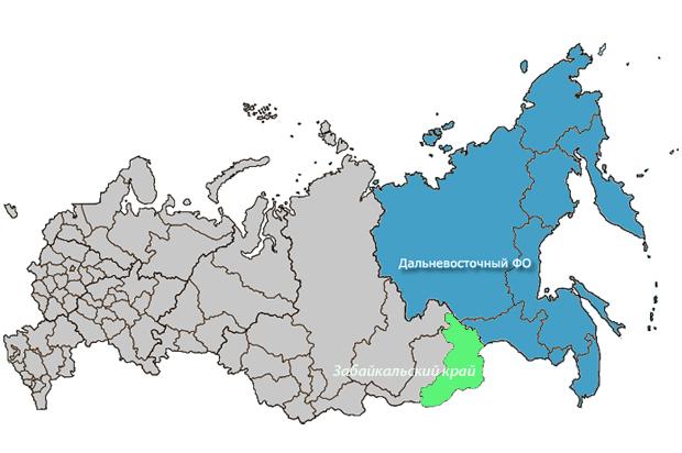 Забайкальский край могут присоединить к Дальнему Востоку