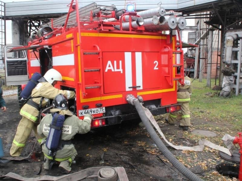 Четыре квартиры сгорели в Дарасуне