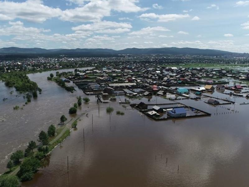Кулаков предупредил о риске второй волны наводнения в Забайкалье
