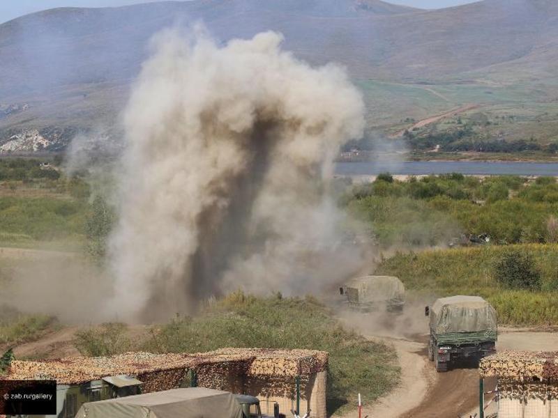 Забайкальцам запретили собирать осколки снарядов во время учений «Восток-2018»