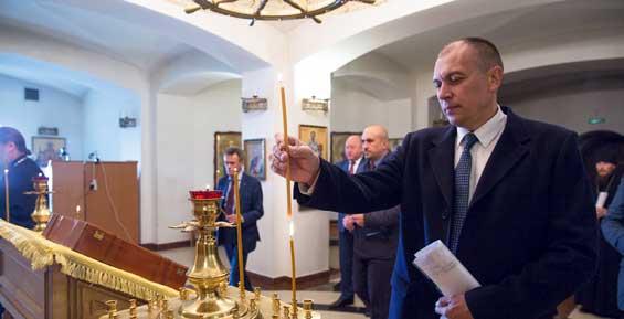 Строительство Морского собора проверили чиновники, рыбопромышленники и военные