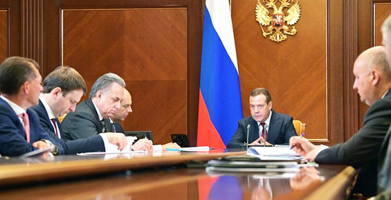 Премьер Медведев: в Петропавловске «очень многое выглядит, скажем так, грустно»
