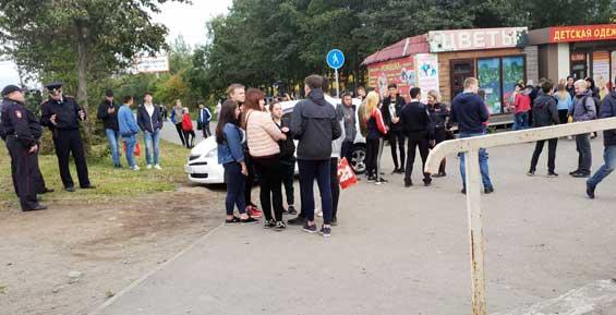 В Петропавловске полицейским сообщили о подозрительном собрании молодежи