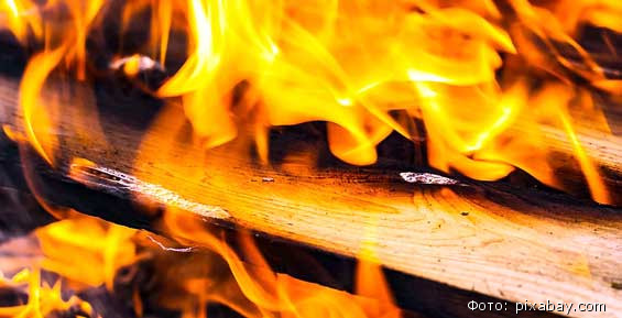 У поста береговой охраны на Камчатке произошел пожар