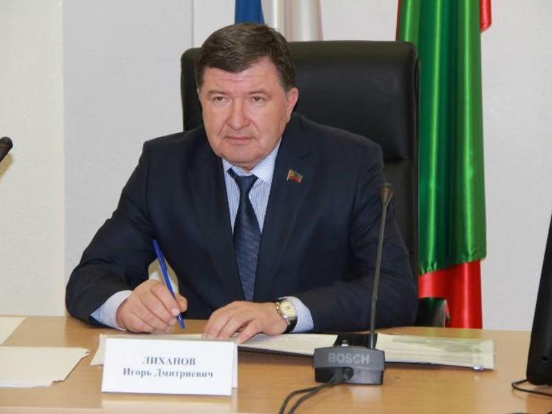 Игорь Лиханов вошел в ТОП-15 рейтинга глав Заксобраний РФ
