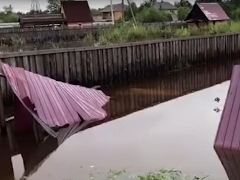 Конфликт из-за дамбы и дом посреди топи - «Дежурный по городу»
