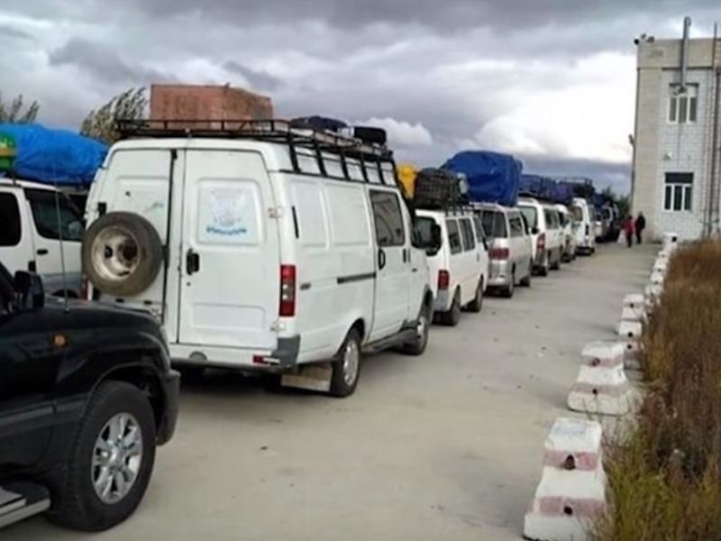 Очевидцы в Сети сообщили о новом «коллапсе» на границе с Китаем