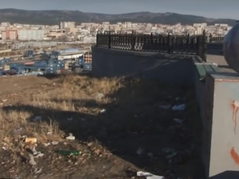 «Дежурный по городу»: Насладиться видом Читы с Титовской сопки мешает мусор