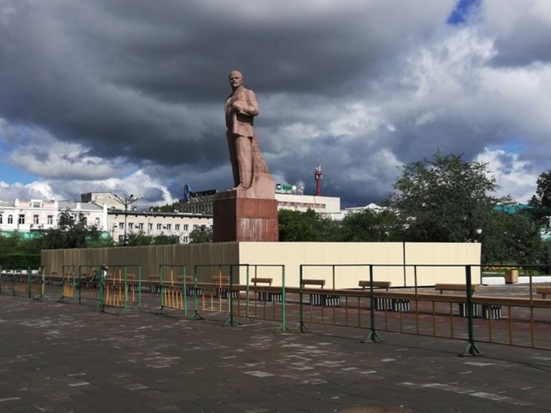 КСП Читы нашла нарушения при проверке благоустройства дворов и пл. Ленина