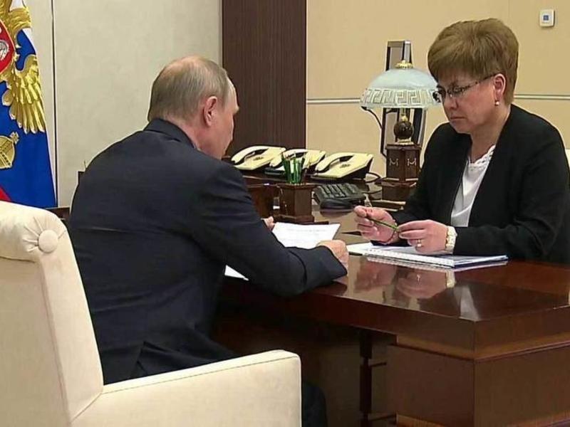 Путин встретится с Натальей Ждановой 30 октября