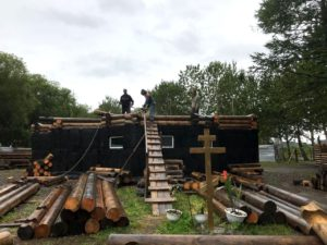 Камчатская епархия обещает помочь семье прихожанина, погибшего при строительстве храма