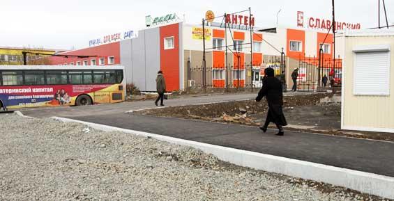 Мэрия: разворотную площадку для автобусов на 10-м километре сдадут в ноябре