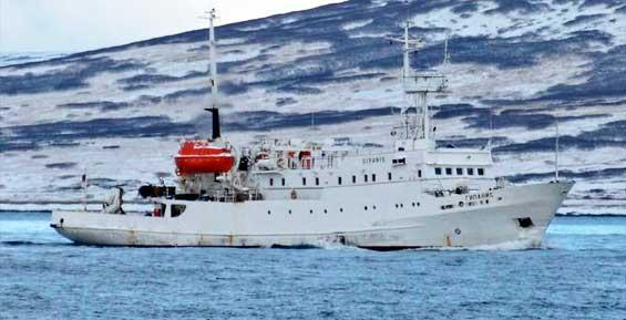 Судно «Гипанис» выйдет на линию Камчатка-Курилы на следующей неделе