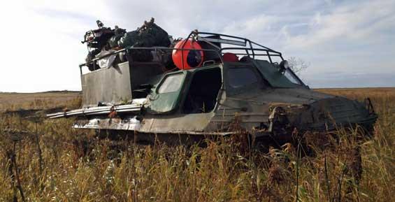 На реке Утка грабитель отобрал у жителя Камчатки вездеход