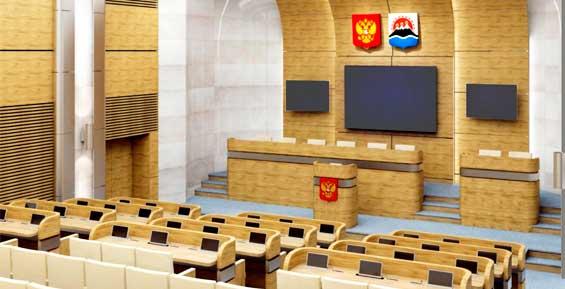 Гранит и мрамор: власти Камчатки потратят 139 миллионов на ремонт столовой и зала заседаний