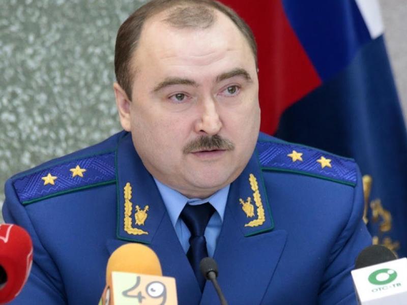 Экс-прокурора Забайкалья Фалилеева уволили с поста прокурора Новосибирской области - СМИ
