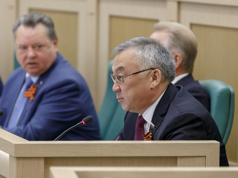 Жамсуев - о ДФО: Мы получаем серьёзный рычаг для ускоренного развития Забайкалья