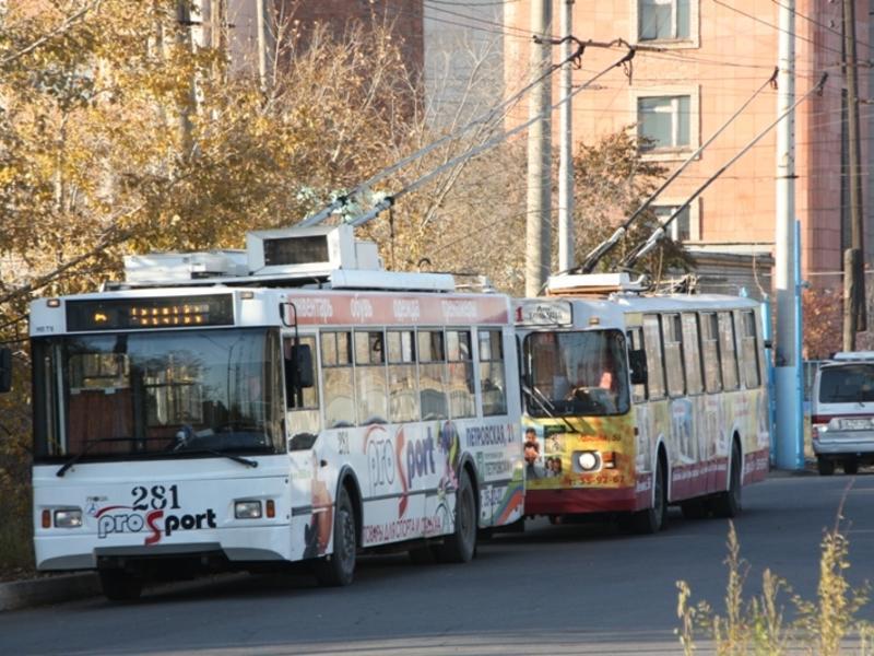 Троллейбусы №6 и №3 после находки в салоне снова начали движение в Чите